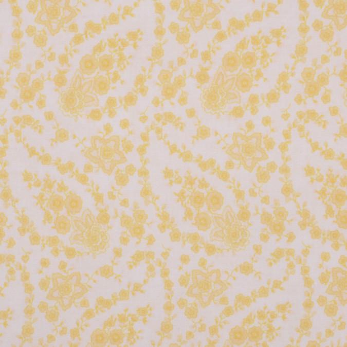 white pastel yellow stretch cotton poplin fc12824 11