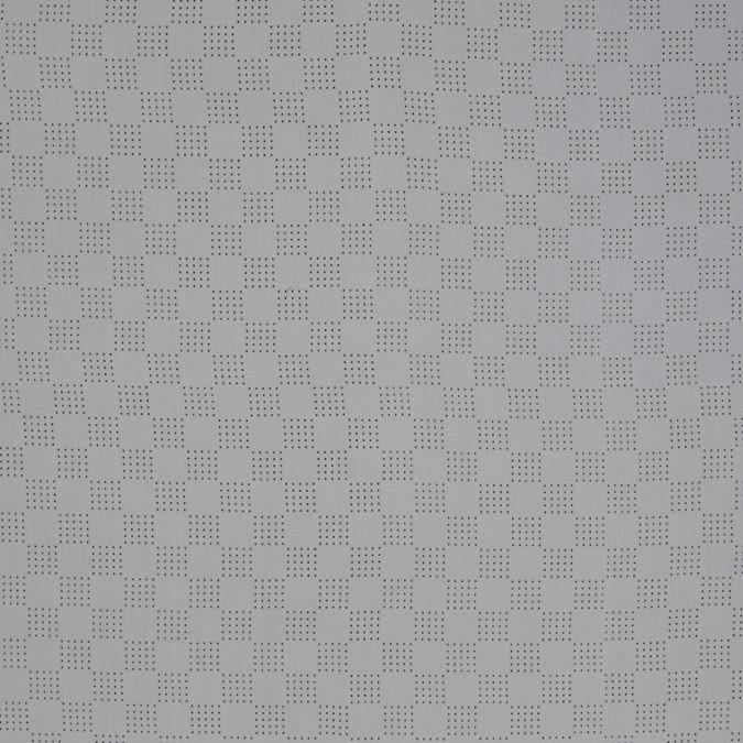 white perforated italian silk crepe de chine 306230 11