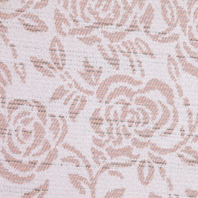 white pink floral woven fw23191 11