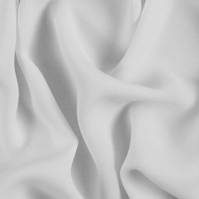 white satin faced polyester crepe 310968 11