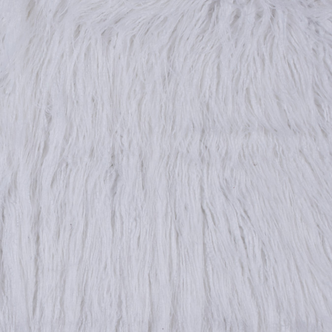 white shaggy faux fur 116580 11