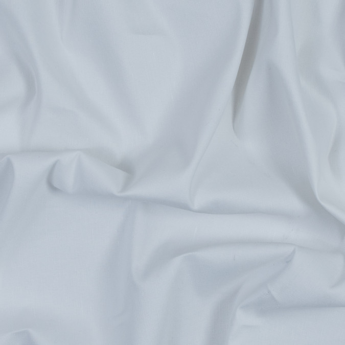 white slubbed stretch cotton woven 317918 11