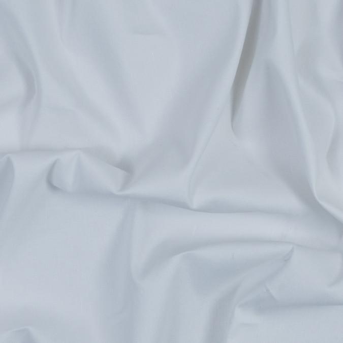 white slubbed stretch cotton woven 317918 11