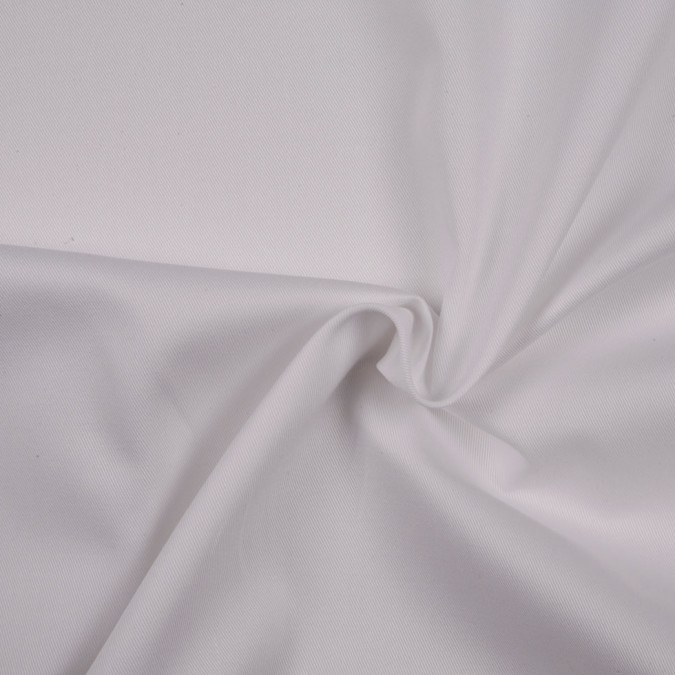 white solid organic cotton twill fc8438 11