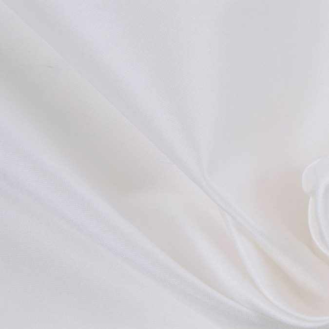 white solid silk taffeta 302530 11