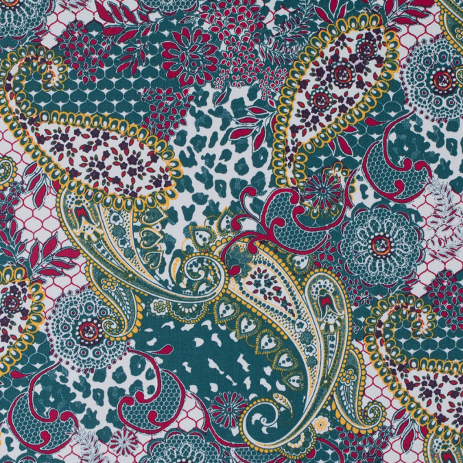 white tidepool dandelion paisley and floral printed cotton sateen 311879 11