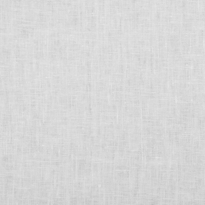 white woven linen suiting 114287 11
