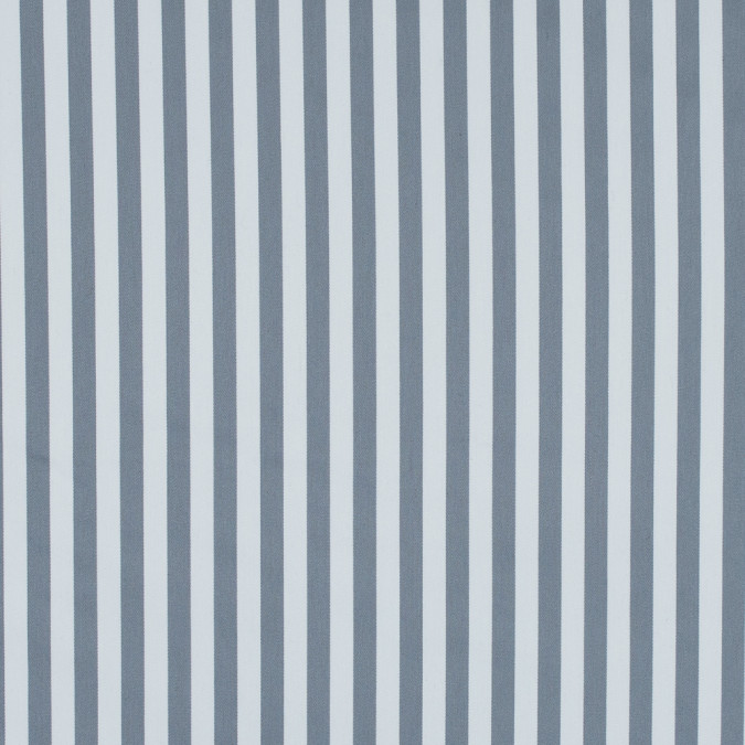 wild dove and white bengal striped polyester twill with give 314460 11
