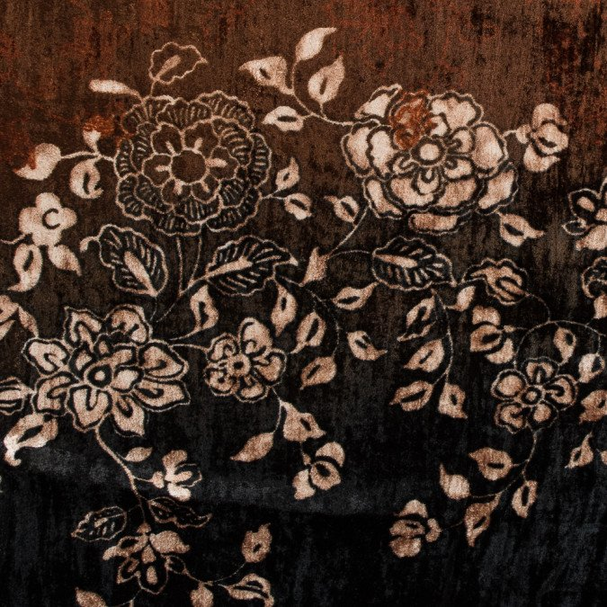 xblack and rust floral printed crinkled velvet 315006 11 jpg pagespeed ic gaHLbTi4w4