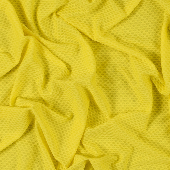 yellow knit jacquard mesh 312544 11