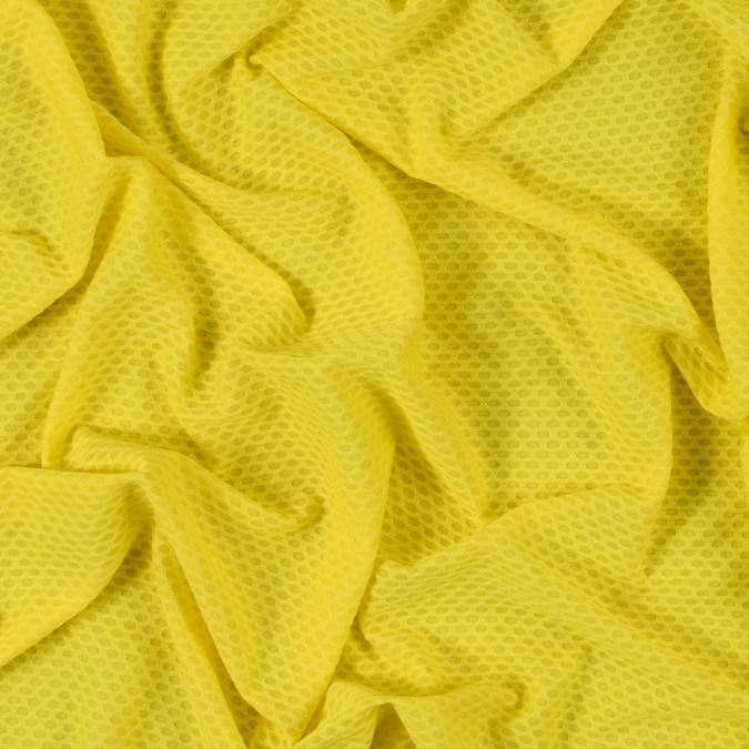 yellow knit jacquard mesh 312544 11